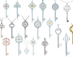 3D printable model Tiffany keys Big Set
