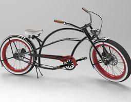 Beach Bicycle 3D
