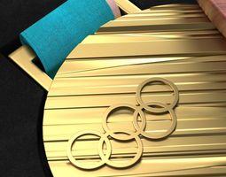 3D model Olympic Medal 2018 Pyeongchang