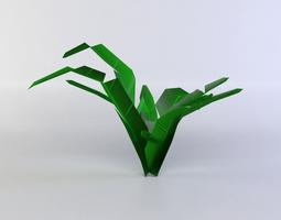 3d asset plant low-poly