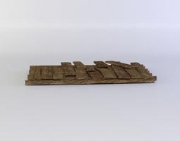 3d model planks realtime