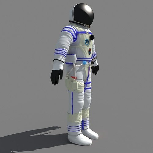 model of layers of the space suit - photo #36