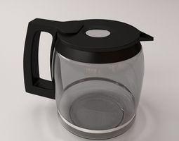 Coffeemaker Carafe 3D