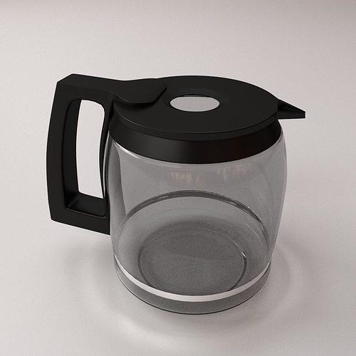 Cooks Coffee Maker Carafe Model 22005 : Coffeemaker Carafe 3D CGTrader