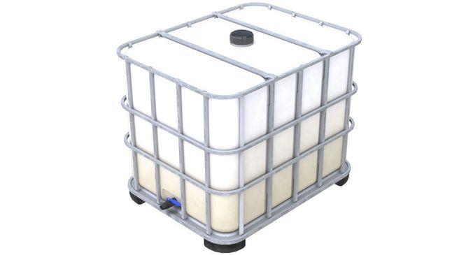 caged ibc tote 1 3d model low-poly obj mtl fbx blend 1