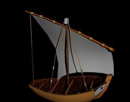 water boat 3D model