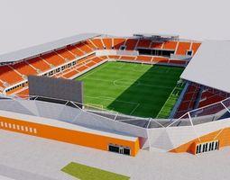 BBVA Compass Stadium - Houston 3D asset