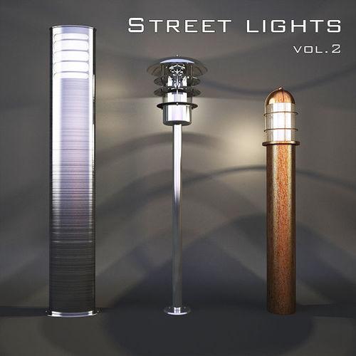street light vol 2 3d model max obj mtl fbx 1
