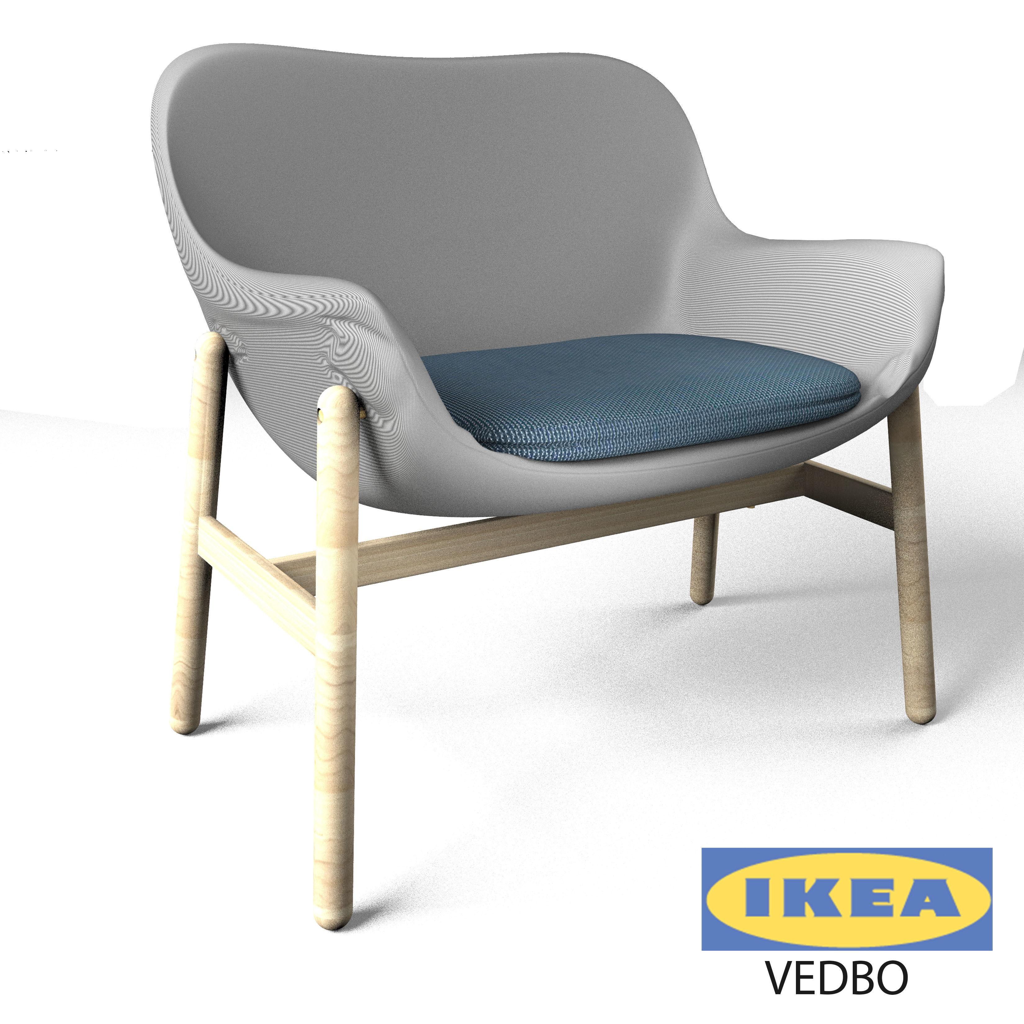 Superb Ikea Arm Chair 3d Model Max Obj Fbx Mtl Mat 1 ...