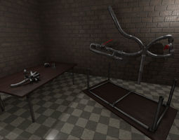 3D asset Steampunk Industrial pipeswith snap helpers