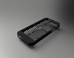 3D print model Iphone SE and 5S phone case