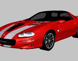 Chevrolet Camaro 35th Anniversary SS 2002 3D model