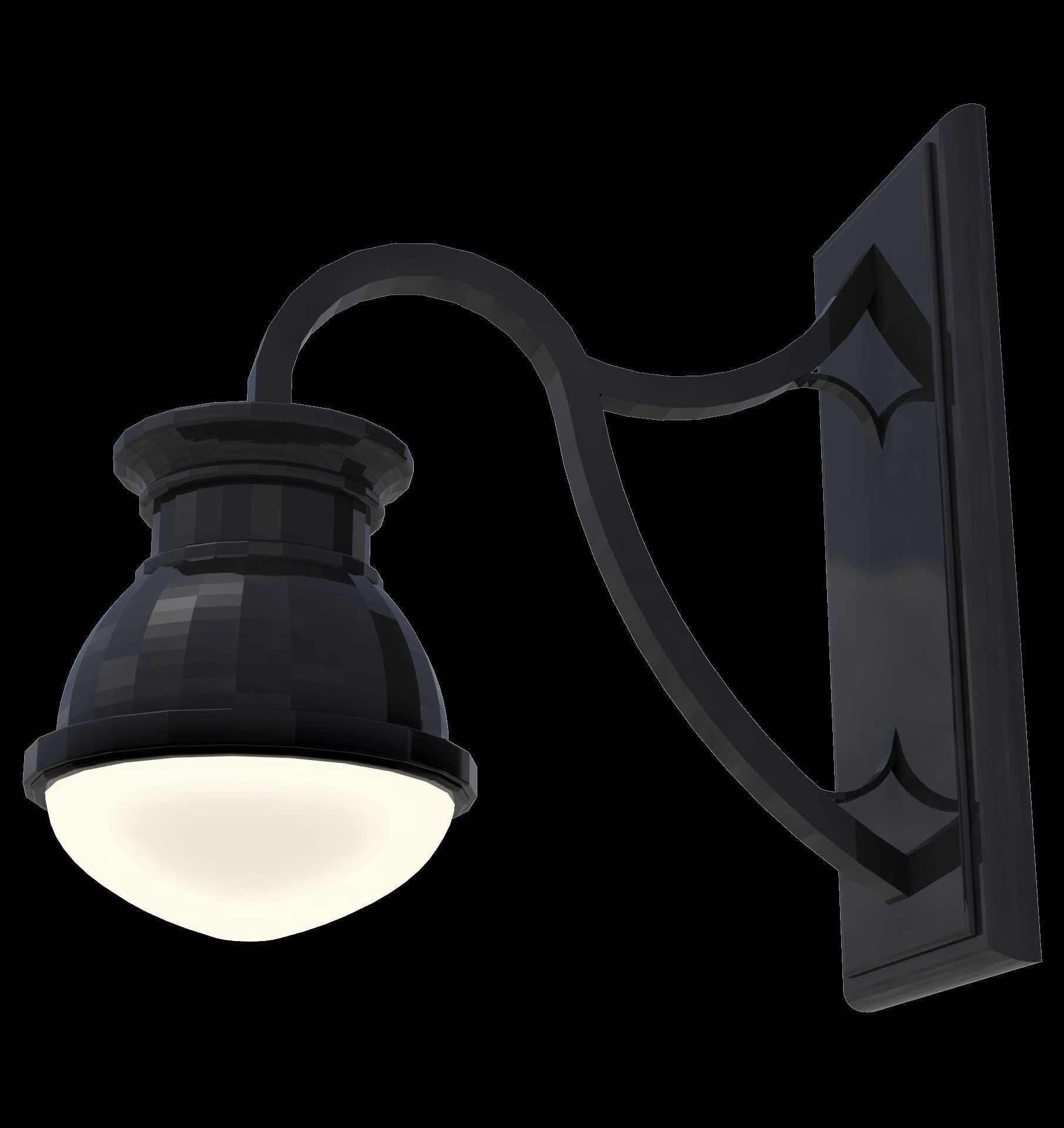 Wall hung small light fixture architectural scene light outdoor