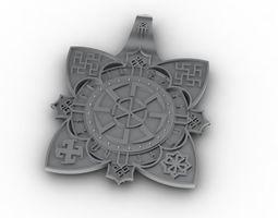 3D printable model The Slavic symbol of the stl