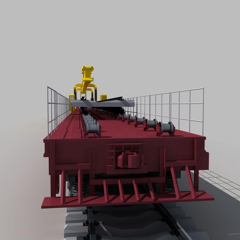 laying machine