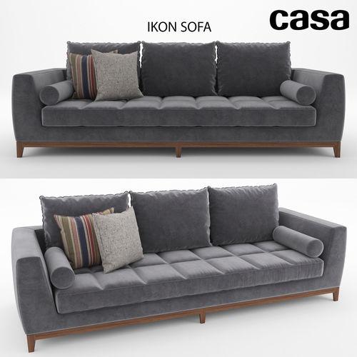 Casa Icon Sofa 3D model