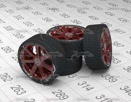 3D model Wheel Audi