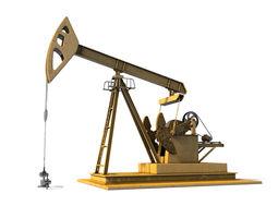 3D model Oil Pump Jack