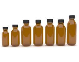 3d model medical bottles 8
