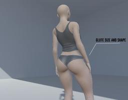 Alexa Female V1 Unity Asset 3D