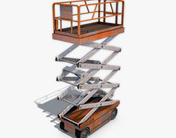 Scissor Lift Up 3D model