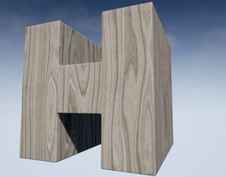 3D model Seamless Customizable Wood Material Pack 106