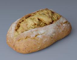 Bread 01 Photoscan 3D model