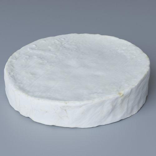 brie cheese 3d model max obj mtl 1