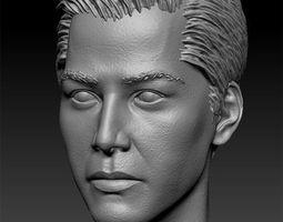 Keanu Reeves 3D print model