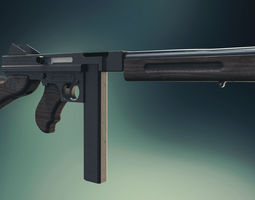 3D printable model Thompson M1A4