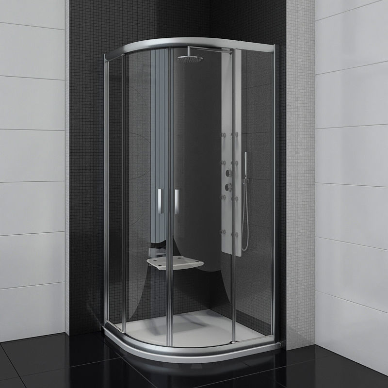 Semicircular shower enclosures Ravak Blix bidet 3D