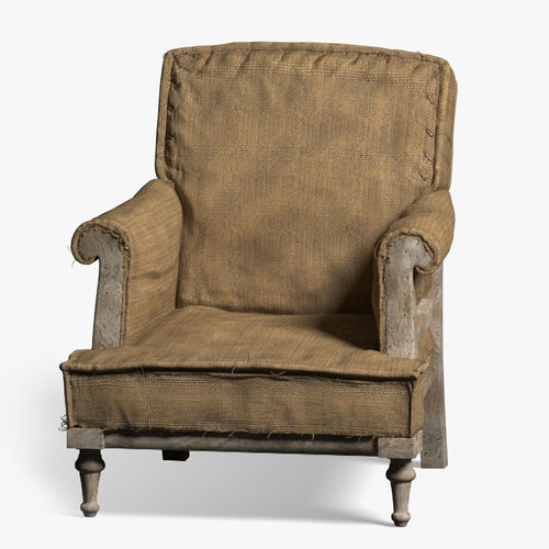 Delicieux Old Armchair 3D Model