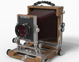 photo Large Format Camera 3D