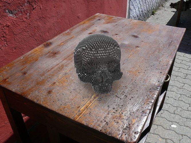 solid part skull 3d model stl sldprt sldasm slddrw ige igs iges 1