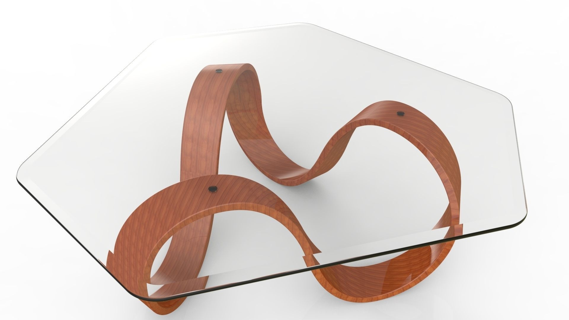 3D model Mobius Coffee Table III CGTrader