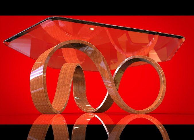 mobius coffee table iii 3d model stl sldprt sldasm slddrw ige igs iges u3d 1