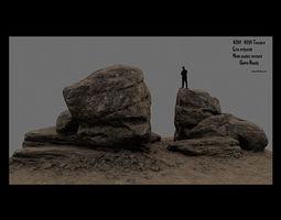 desert rocks 1 3D model