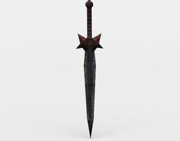 realtime dagger 3d model