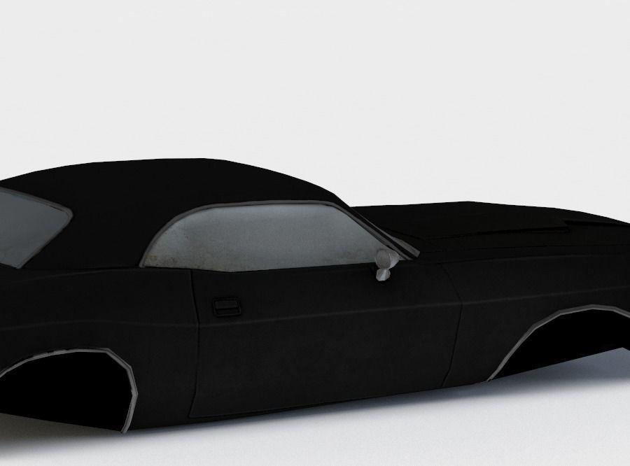3d Model Car With No Wheels Vr Ar Low Poly Obj Fbx Lwo Lw Lws