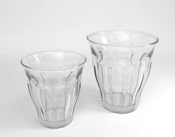 Retro Coffee Cups 3D