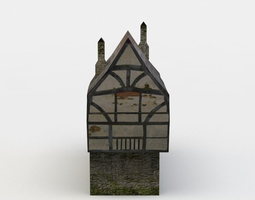 game-ready house 3d asset