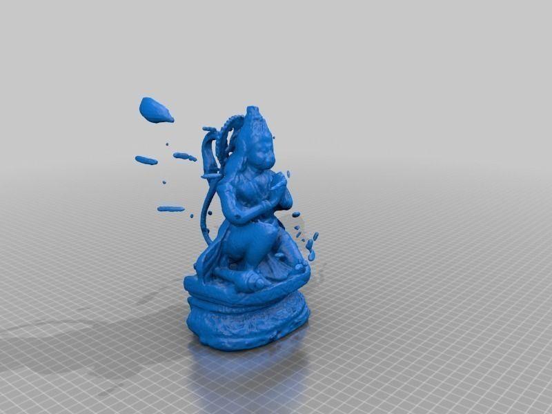 Hanuman free 3D Model 3D printable STL - CGTrader.com