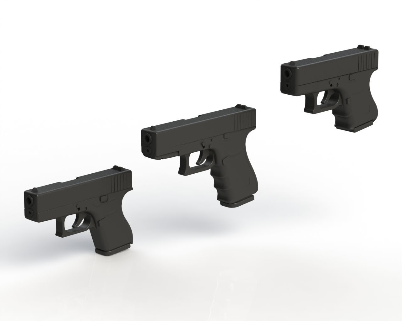 Glock Pack 1-1 Scale | 3D Print Model