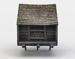 realtime 3d model house oriel