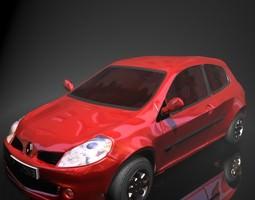 VR / AR ready renault clio 3d model