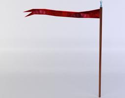 realtime 3d model red flag