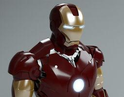 iron man mark 3 3d model