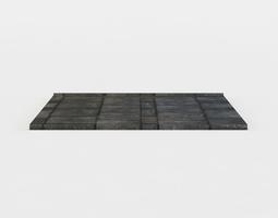 realtime floor platform 3d model