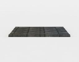 floor platform 3d asset game-ready