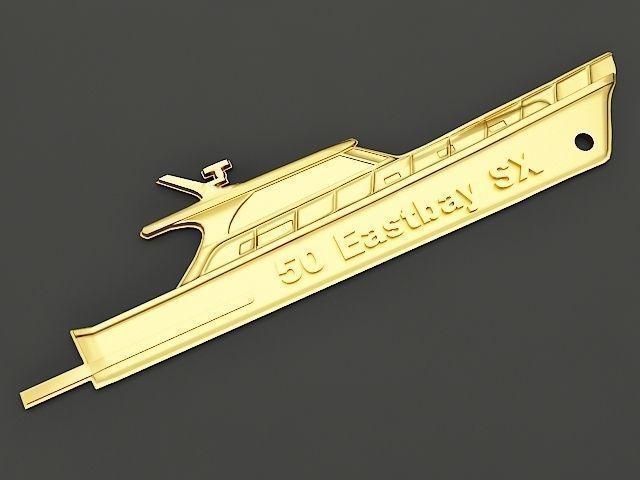 Yacht Key chain 2
